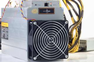 Antminer L3+ (Undervolted) with PSU