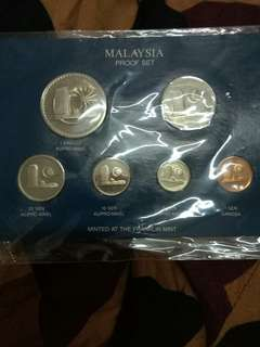 Proof coin set