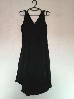 Black High-Low dress