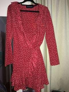 Realisation Par Alexandra red star dress