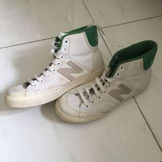 [REPRICE] New Balance High Top White Shoes