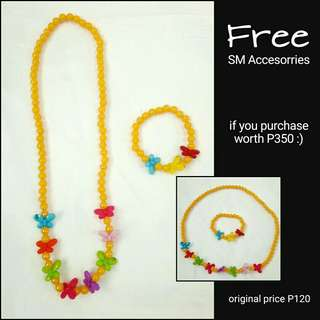 FREE SM Accesories!