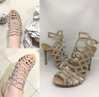 Madden Girl Nude Fab size 6.5 and 7