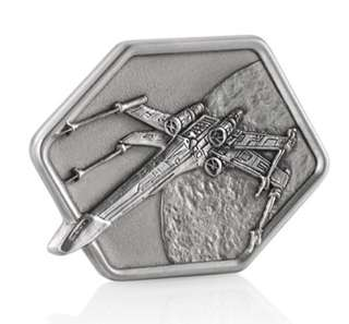 Star Wars X-Wing Pewter Token