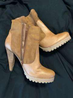 Betts tan boots