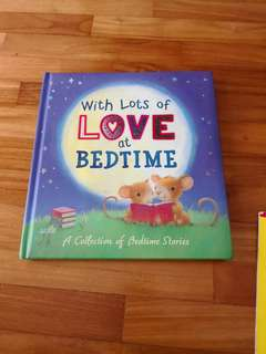 With lots of love at bedtime story