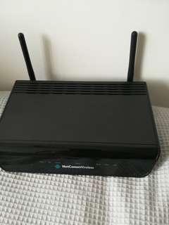 NetCom ADSL2 modem WiFi router