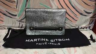 MARTINE SITBON leather crossbody / clutch
