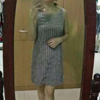 mocha brown dress