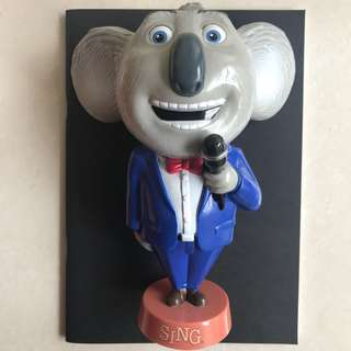 Buster Moon GV collectable figure drink bottle