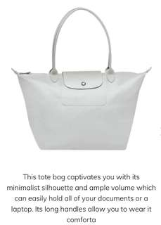 Bnew Longchamp Neo Shopper Large
