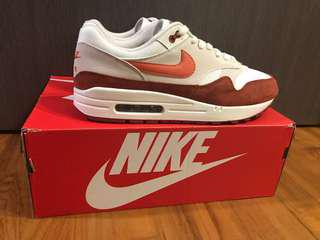 sports shoes ca432 c2ce0 NIKE AIR MAX 1 (SAIL   VINTAGE CORAL - MARS STONE)