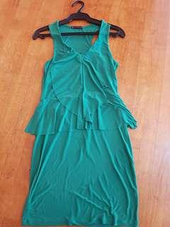 Green Short Dress
