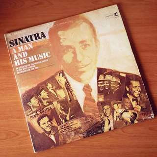 Frank Sinatra - A Man and His Music (2-disc Plaka / LP Record / Vinyl)