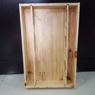 Wooden Crate For Wine Bottles