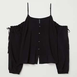 Divided by H&M cold shoulder top