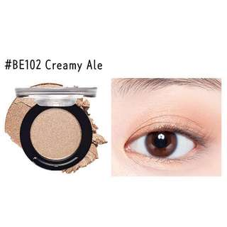 Étude House Satin Fit Eyeshadow in Creamy Ale #BE102
