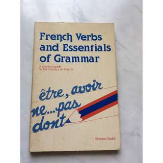 French Verbs and Essential of Grammar