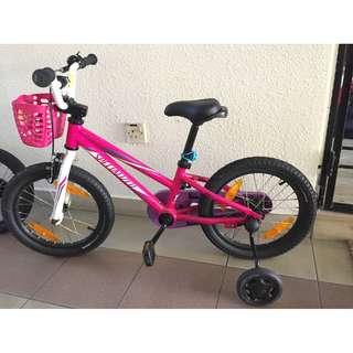 Pink Specialized hotrock 16' girls bike