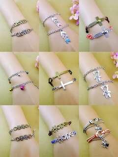 Bracelets (buy one free one)