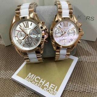 Mk Couple Bradshaw Watch