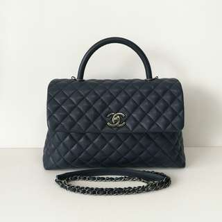 Authentic Chanel Coco Large Flap