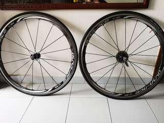 Shimano C35 dura ace 9000 wheelset