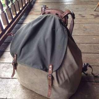 Vintage Swedish Army WW2 rucksack