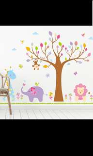 Wall Sticker for baby and children- Animal theme