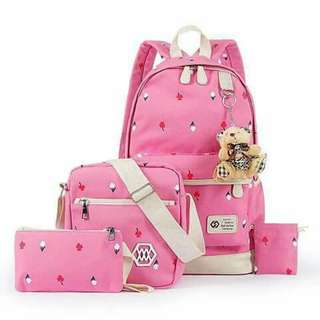 🎀Cute Bagpack 1 set🎀
