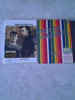 Tears For Fears & Peter Gabriel Dvds -The videos