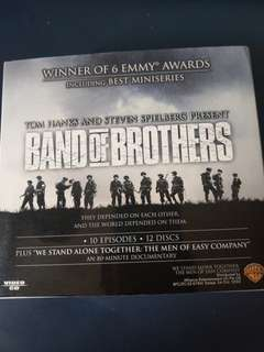 """Band Of Brothers original CD Boxset w/ """"We Stand Alone: The Men of Easy Company"""" documentary."""