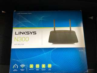 Linksys e1700 N300 WiFi router