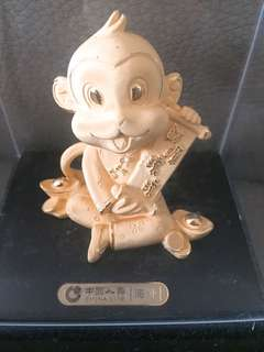 24k-金猴擺設(中國人壽)