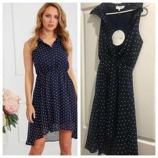 Chasing Kate polka dot dress *bnwt* size 10