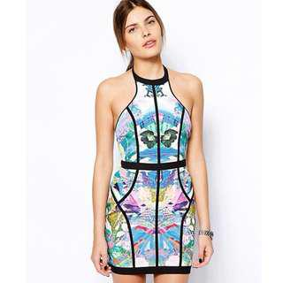 Finders Keepers Winter Birds Dress