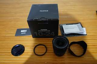 Fujifilm XF 10-24 F4