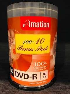 Imation DVD-R 16x 2 hr - 99 pcs for videos, photos & data