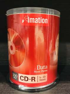 Imation CD-R 100 pc 700 mb data storage