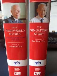 Memoirs of Lee Kuan Yew set [Original Print]