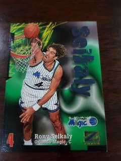 NBA card- Seikaly