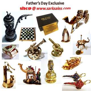 some of our items for father day celebration horse cannon camel