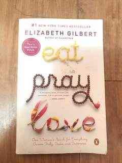 Eat, Pray, Love Book
