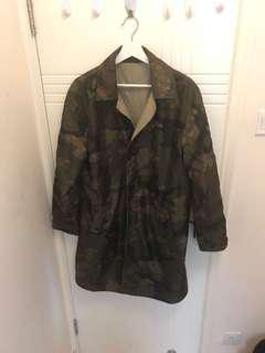 Louis Vuitton xSupreme trench coat