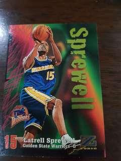 NBA card- Sprewell
