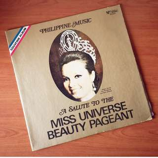 A Salute to the Miss Universe Beauty Pageant (Plaka / LP Record / Vinyl)