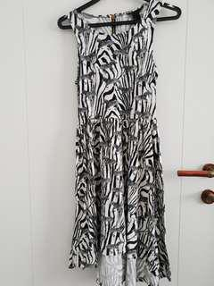 H&M Dress with Zebra Print