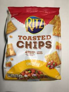 RITZ TOASTED Chips CHEDDAR 229g