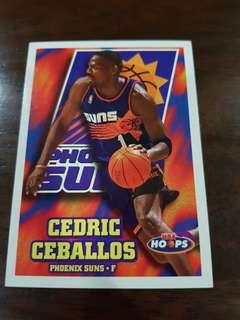 NBA card - Ceballos