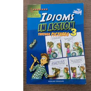 Idioms in Actions through Pictures